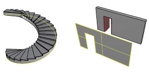 FlächeLösen und KanteDuplizieren von VisualARQ-Objekten