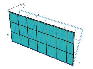 How can I create sloped curtain walls