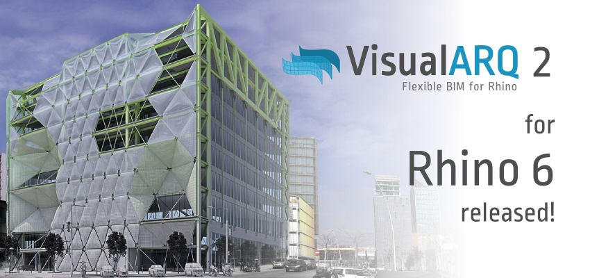 VisualARQ  2 disponibile per Rhino