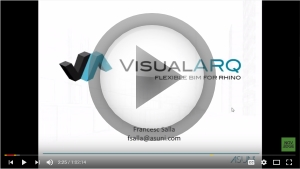 VisualARQ 2.0 Webinar recorded