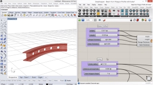 VisualARQ 2.0 sneak preview_ create a beam style from a Grasshopper definition 300