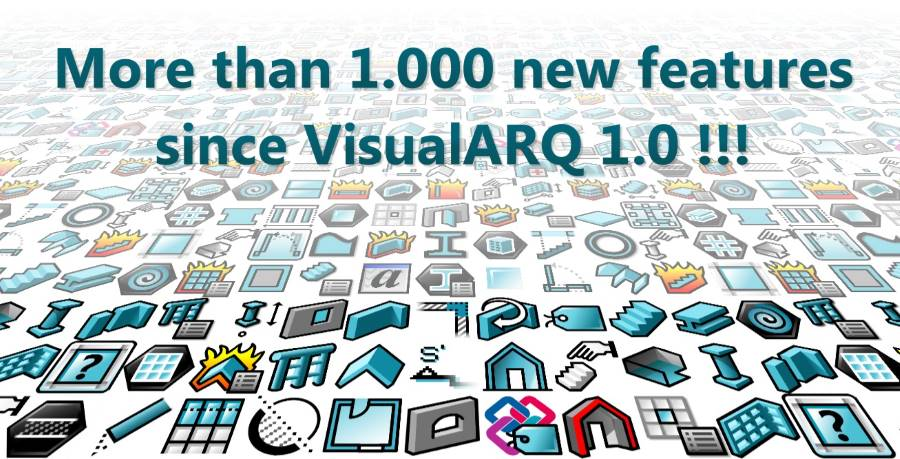 VisualARQ eNews 1000 features 900
