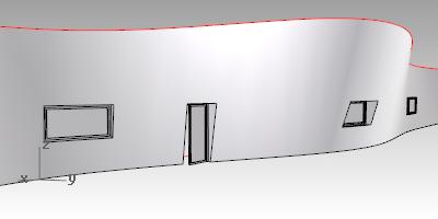 Wand aus Volumenkörper 2