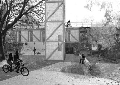 Student project in Horní Jiřetín