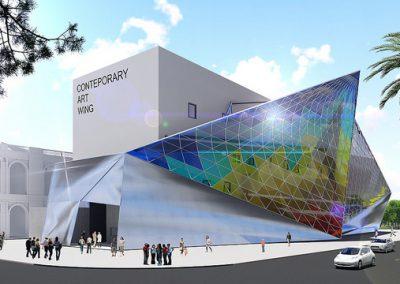 Neuer Flügel des Mali-Museums in Lima