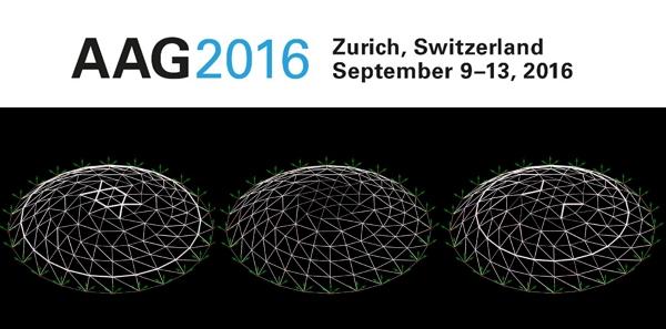 Advances in Architectural Geometry 2016, Zurich