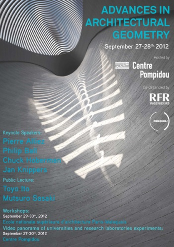 Advances in Architectural Geometry 2012 – Paris