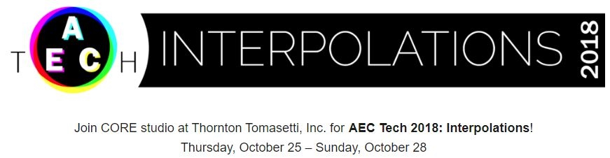 VisualARQ asiste a la AEC Tech 2018: Interpolations en Nueva York
