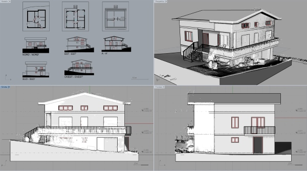 Design workflow with VisualARQ and Arena4D, a case study
