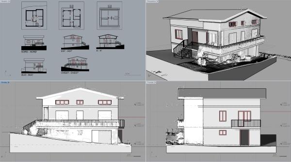 Andrea Gavagning Projekt mit VisualARQ