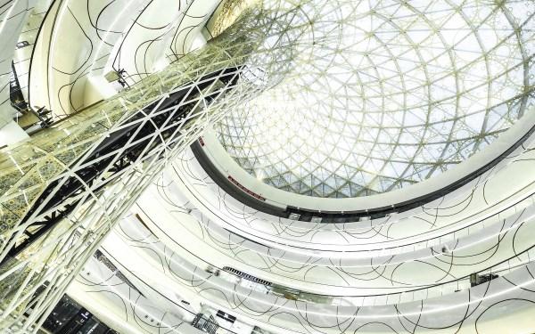 Architecture creates a fantasy scenario where visitors are the protagonists