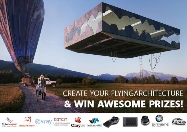 Gewinnen Sie eine VisualARQ-Lizenz beim Wettbewerb Architecture unchained!