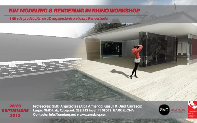 BIM Modeling & Rendering in Rhino Workshop