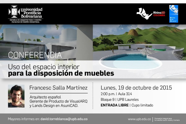 Conferencia VisualARQ en UPB 600