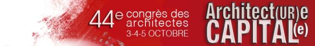 Congres des architectes 2013