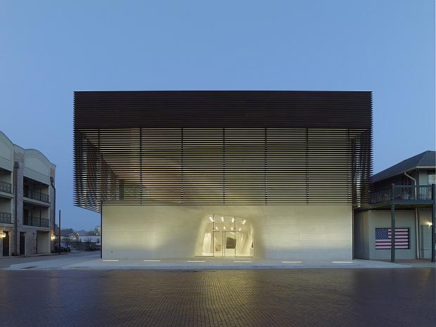 Arquitectura contemporánea con Rhino. Vista exterior