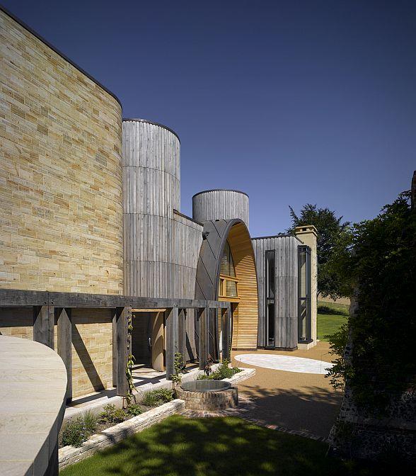 Torretas y cúpula del proyecto comentado por VisualARQ