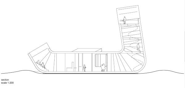 Plano alzado del diseño de los arquitectos de J. Mayer H.
