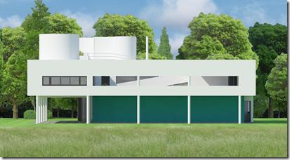 Weitere Videos der Villa Savoye mit VisualARQ