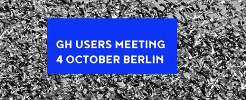Rhino and Grasshopper user meeting in Berlin