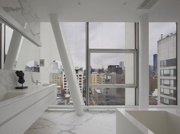 Materiales de alta calidad para unos apartamentos de elevada categoría