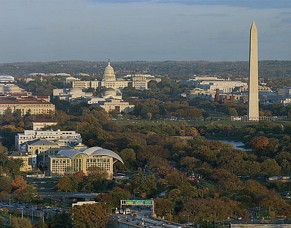 The Institute has exceptional views to Washington representative buildings
