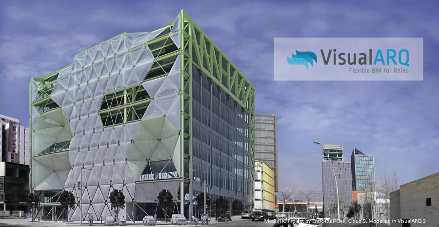 Workshop: Rhino für Architektur unter Verwendung von VisualARQ