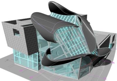 Galerie d'arts d'Alberta, par Randall Stout Architects