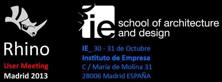 VisualARQ en el Rhino User Meeting IE Madrid