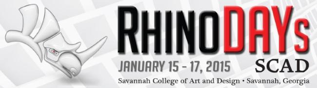 Rhino day SCAD