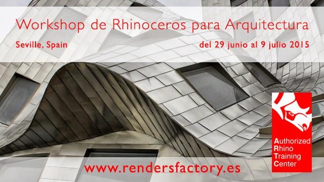 3D|ArchViz Workshop de modelado con Rhino aplicado a la arquitectura
