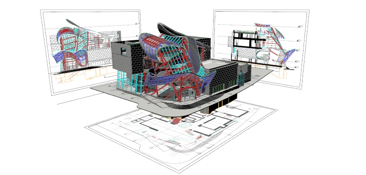 "The use of 3D in buildings is now the main option (and concern) of the ""technological"" architect"