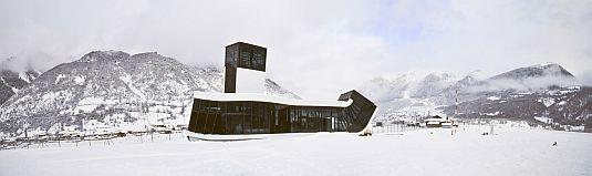 VisualARQ analiza un diseño Rhino: el Aeropuerto Queen Tamar en Mestia, de J. Mayer H. Architects
