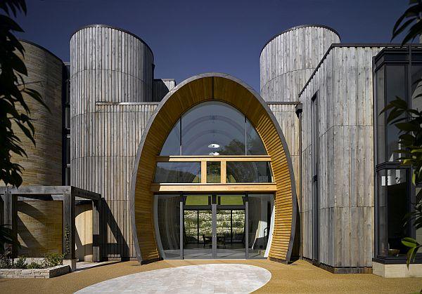 VisualARQ analiza un diseño arquitectónico en Rhino: Downley House en Inglaterra