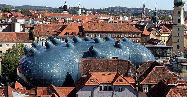 VisualARQ presents a Rhino project: Kunsthaus in Graz, Austria