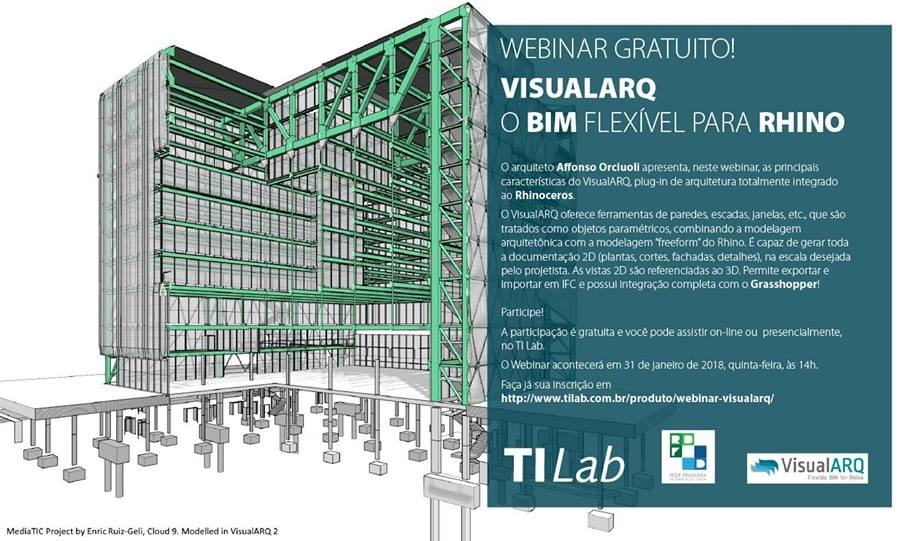 Flexible BIM with VisualARQ presentation in Brazil