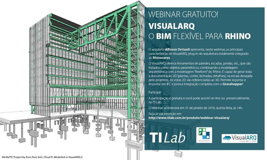 Flexible BIM with VisualARQ presentation in Brazil
