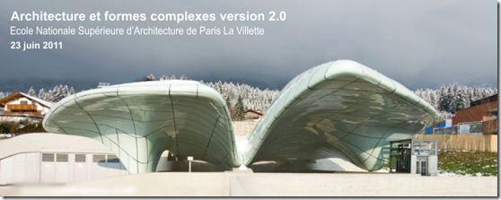 Architecture et formes complexes 2.0