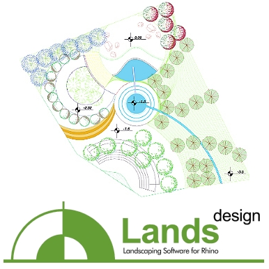 Lands Design per Rhino disponibile