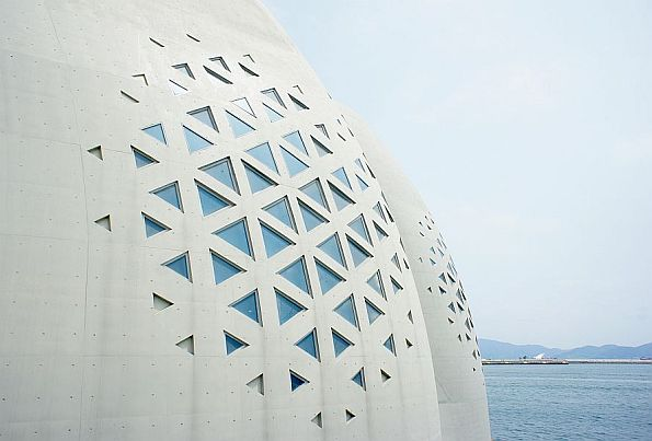 Design of the lattice in the project commented by VisualARQ