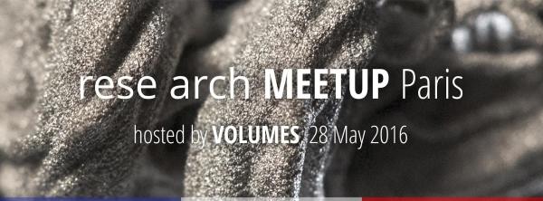 rese arch Meetup Paris