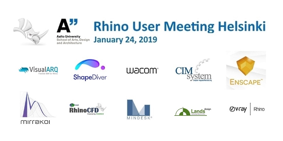 VisualARQ at the Rhino User Meeting Helsinki