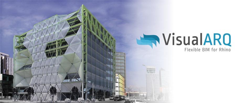 VisualARQ Workshop banner. BIM Workflow with Rhino, VisualARQ and Grasshopper