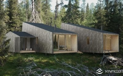 Appartements de vacances dans la forêt de Koukkumetsä