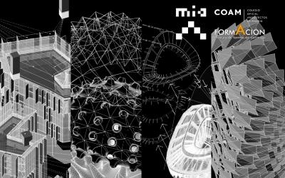 Cursos MIAUHAUS | Grasshopper para proyectos de arquitectura y flujos de trabajo de arquitectura (COAM, Madrid)