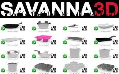 Neu: Savanna3D R6 + Grasshopper-Definitionen