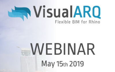 Webinar: Flexible BIM workflow with Rhino, VisualARQ and Grasshopper