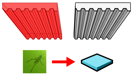 Comparison between the Grasshopper slab on the left and the VisualARQ slab on the right.
