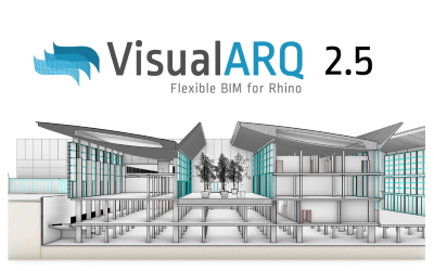 VisualARQ 2.5 già disponibile