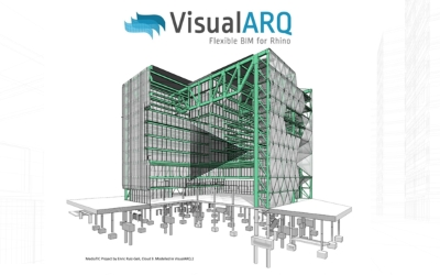 """Flexible BIM workflow with Rhino, VisualARQ and Grasshopper"" webinar recorded"